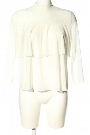 Ayanapa Transparent Blouse natural white business style
