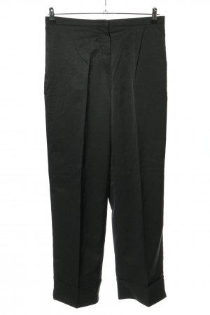 Aygill's Spodnie z zakładkami czarny W stylu biznesowym