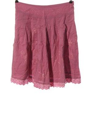 Aygill's Rozkloszowana spódnica różowy W stylu casual