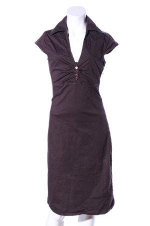 Aygill's Sukienka mini fiolet W stylu casual