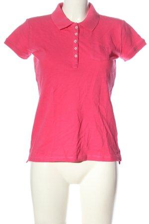 Aygill's Koszulka polo różowy W stylu casual