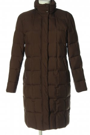 Aygill's Quilted Coat brown quilting pattern casual look