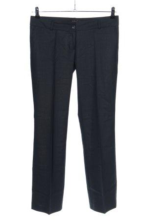 ayhan Pantalon taille basse bleu style d'affaires
