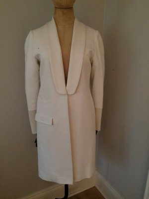 Frock Coat white cotton