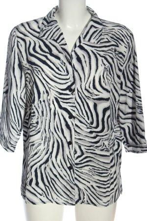 AZ Modell Camicia a maniche corte stampa integrale stile casual