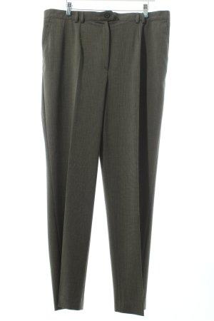 AZ Modell Stoffen broek zwart bruin-beige zakelijke stijl