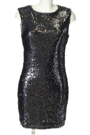 AZAKA Paris Minikleid schwarz extravaganter Stil
