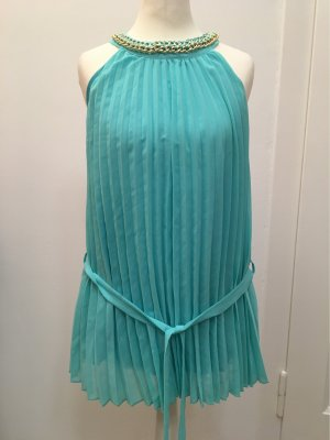 Azara Paris Short Sleeved Blouse turquoise