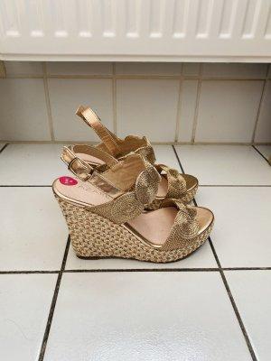 azarey Wedge Sandals multicolored