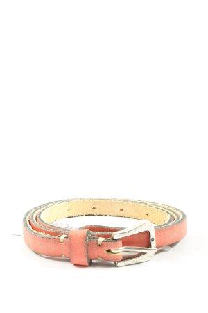 B Belt Cintura in ecopelle rosa stile casual