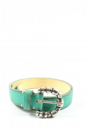 B Belt Faux Leather Belt turquoise casual look