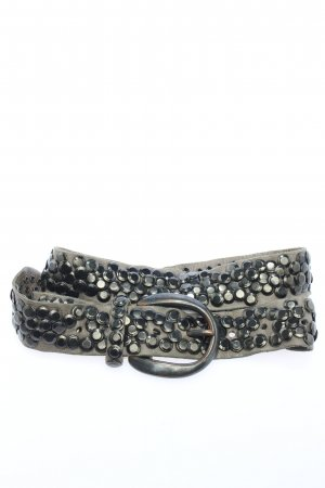 B Belt Studded Belt light grey wet-look