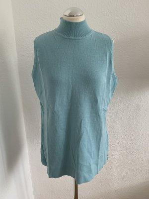 b.c. Camicia maglia turchese-azzurro