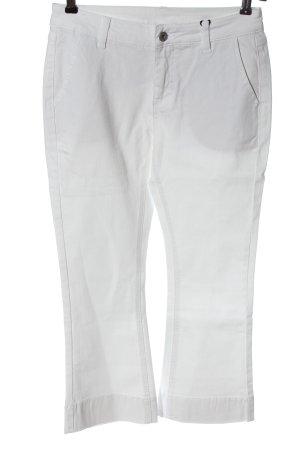 b.c. best connections Jeans 7/8 blanc style décontracté