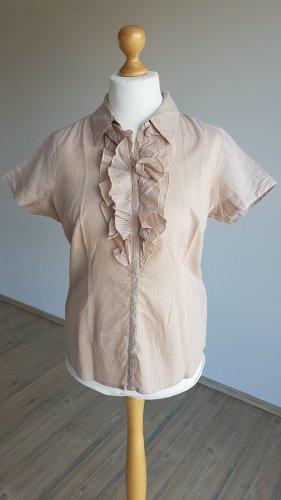 Best Connections Ruffled Blouse beige
