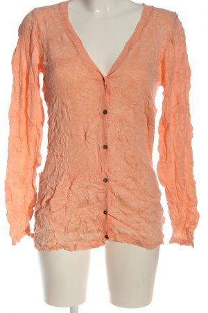 b.c. best connections Cardigan orange clair torsades style décontracté