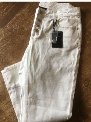 B.C. Best Connections Hose Jeans Capri silber Gr. 38