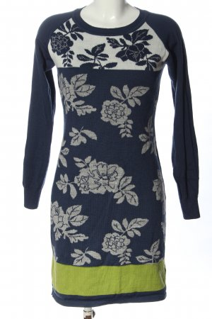 b.c. best connections Sweater Dress flower pattern casual look