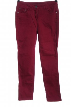 b.c. best connections Tube jeans rood casual uitstraling
