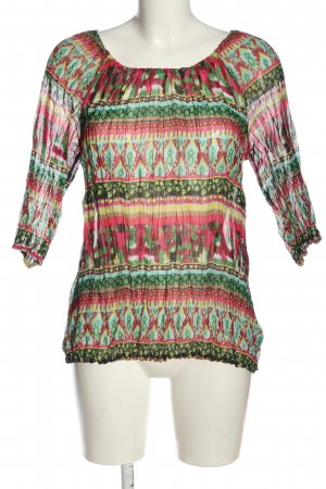b.c. best connections Slip-over blouse volledige print casual uitstraling