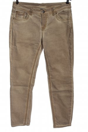 b.c. best connections Slim jeans bruin casual uitstraling
