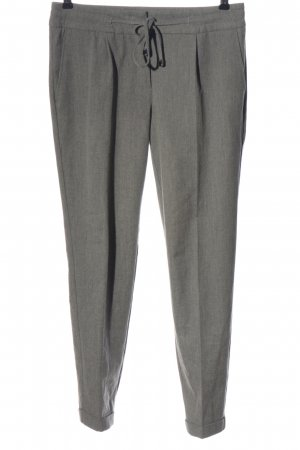 b.c. best connections Pantalon en jersey gris clair Motif de tissage