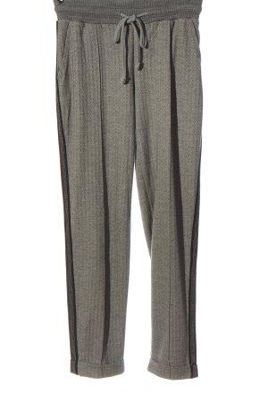b.c. best connections Pantalon en jersey gris clair-noir style décontracté
