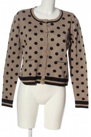 b.c. best connections Cardigan tricotés rose chair-noir motif de tache