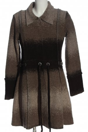 b.c. best connections Gebreide jas bruin-zwart kleurverloop casual uitstraling