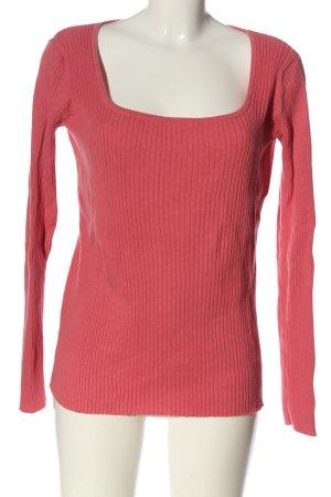 b.c. best connections Pull tricoté rose style décontracté