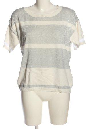 b.c. best connections T-shirts en mailles tricotées blanc cassé-gris clair