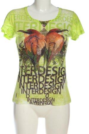b.c. best connections T-Shirt Motivdruck Casual-Look