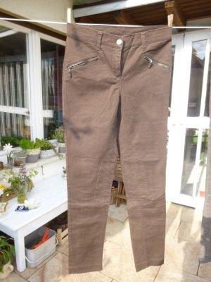 b.c. Pantalone da equitazione marrone