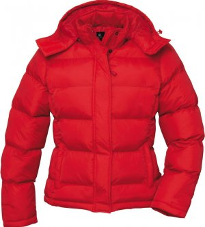 B&C collection Winter Coat red-brown nylon
