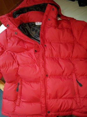 B&C collection Veste d'hiver rouge-brun nylon