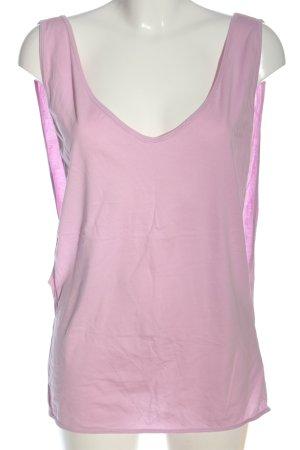 B&C collection Top basic różowy W stylu casual