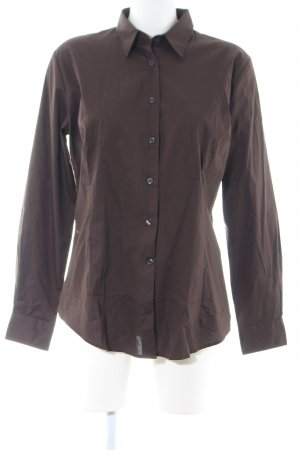 B&C collection Shirt Blouse brown casual look