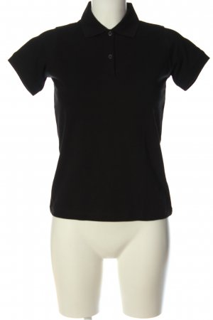 B&C collection Koszulka polo czarny W stylu casual