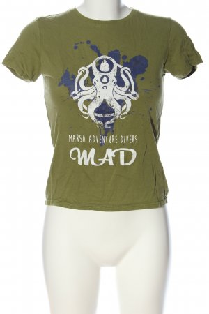 B&C collection Koszulka z nadrukiem Nadruk z motywem W stylu casual
