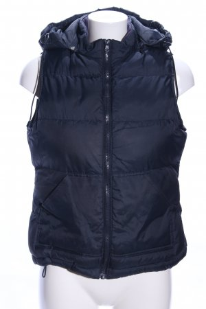 B&C collection Quilted Gilet black quilting pattern casual look