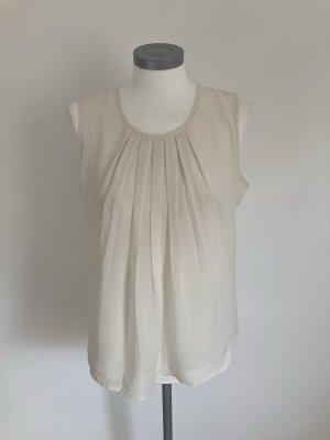 B.C Heine Shirt Top Bluse creme weiß 36 S