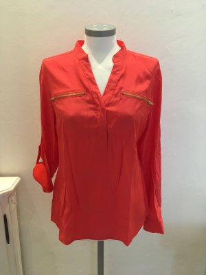 B.C Heine Shirt Top Bluse koralle rot 36 S