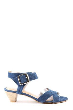 b.c. High Heel Sandal blue casual look