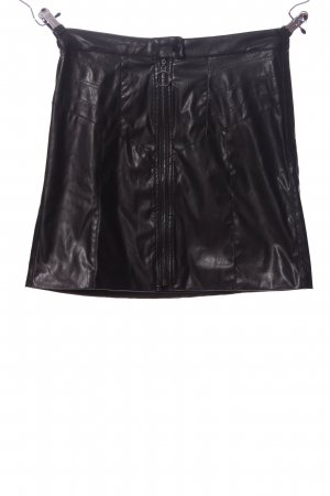 b.c. Faux Leather Skirt black casual look