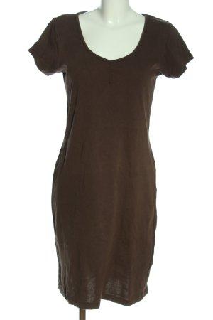 b.c. Shortsleeve Dress brown casual look