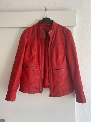 Best Connections Leather Jacket red