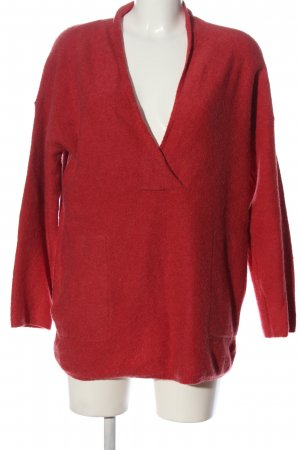 b.c. Long Sweater red casual look