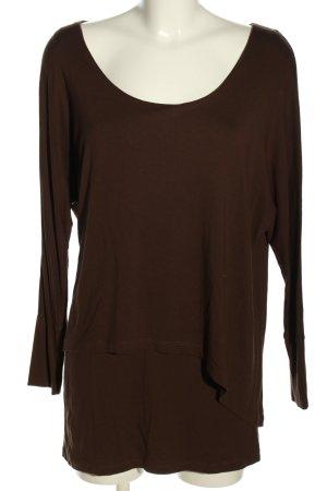 b.c. Longsleeve brown casual look
