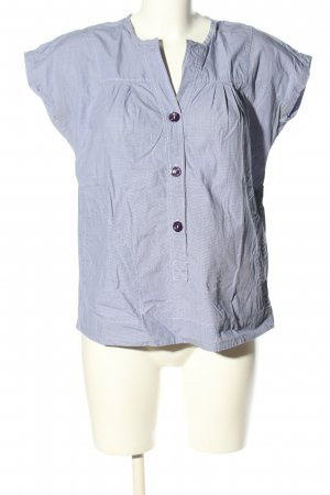 B. D. Baggies Shirt Blouse blue allover print casual look