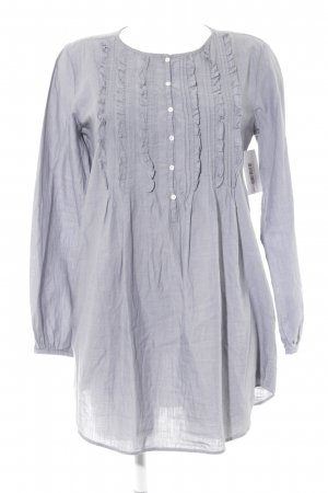 B. D. Baggies Long Sleeve Blouse slate-gray casual look